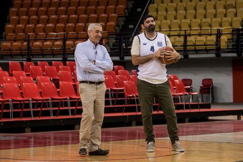 Ο Βασίλης Σκουντής και ο Παντελής Βλαχόπουλος