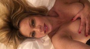Πανηγύρισε γυμνή στο κρεβάτι την κούπα της Λάτσιο!