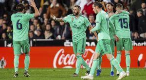 Βαλένθια – Ρεάλ 1-1: Ο Μπενζεμά έδωσε βαθμό στο 95′ στους μερένγκες