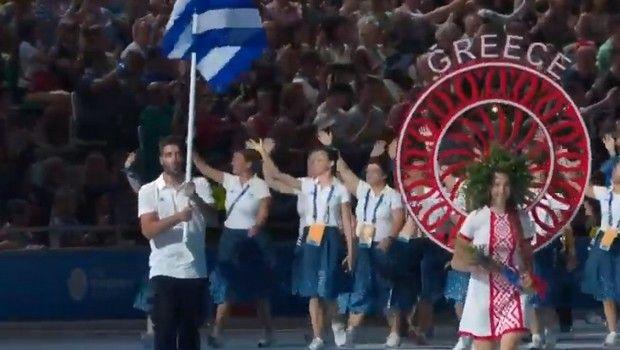 Ευρωπαϊκοί Αγώνες: Εντυπωσιακή η τελετή έναρξης