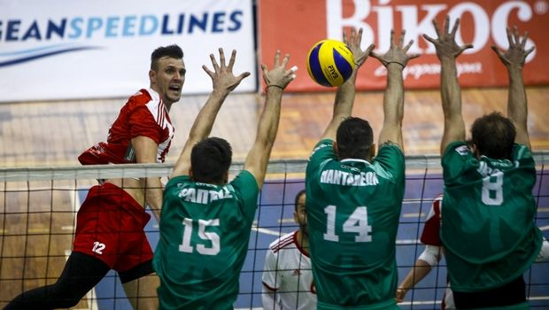 Volleyleague Ανδρών: Οι ποινές Παναθηναϊκού και Πανταλέοντα για το ντέρμπι με τον Ολυμπιακό
