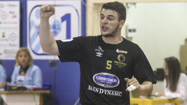 c065bdb5813 Ο Αερωπός Έδεσσας έκλεισε τον πρώτο γύρο της Handball Premier με μία  σπουδαία νίκη αφού επικράτησε με 29-21 επί του Διομήδη.