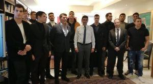 Πόλο: Η υποδοχή του Αυγενάκη στους Παγκόσμιους Πρωταθλητές Νέων