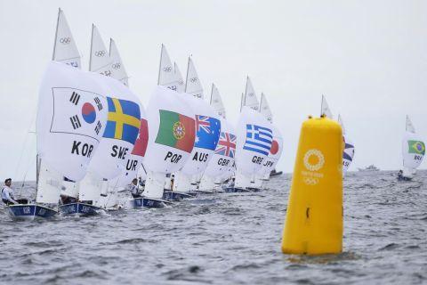 Ολυμπιακοί Αγώνες - Ιστιοπλοΐα: Αναβλήθηκαν οι αγώνες λόγω... απουσίας ανέμων
