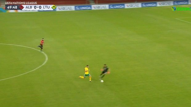 Nations League: Η γκάφα της Αλβανίας που έφερε το γκολ νίκης των Λιθουανών