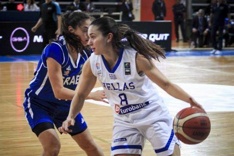 Η Πηνελόπη Παυλοπούλου με την φανέλα της Εθνικής