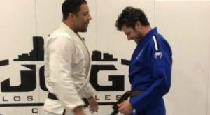 Καφέ ζώνη στο Brazilian Jiu Jitsu o Χρήστος Βασιλόπουλος