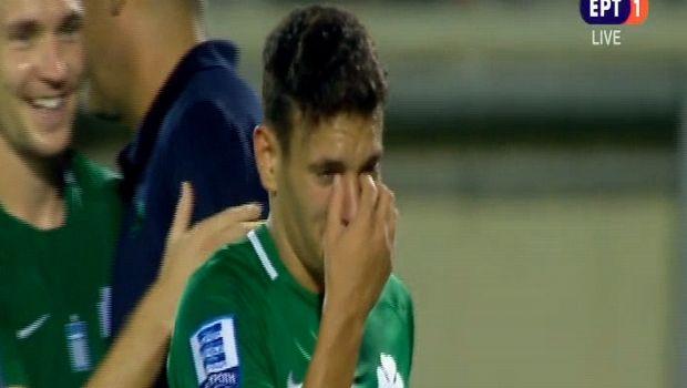 Δάκρυσε στο φινάλε ο Εμμανουηλίδης (VIDEO)