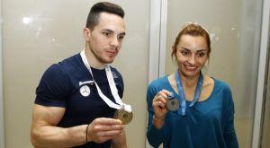 Επέστρεψαν από το Μπακού οι Έλληνες γυμναστές
