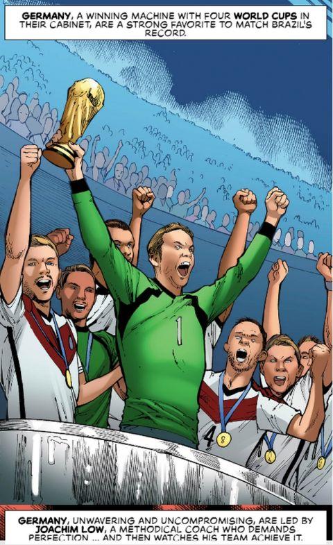 Τα καταπληκτικά κόμικς της Marvel για το Παγκόσμιο Κύπελλο