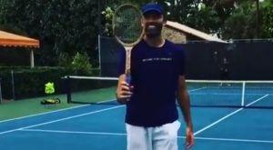 Τένις: Ο Κάρλοβιτς έσπασε ξύλινη ρακέτα με το σερβίς του!