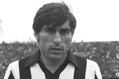 Ο Αναστασιάδης με τη φανέλα του ΠΑΟΚ το 1979