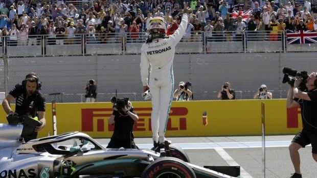 GP Γαλλίας: Pole position για Χάμιλτον με ρεκόρ πίστας