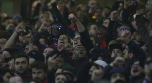 """Οι οπαδοί της Παρί """"αιχμαλώτισαν"""" το Old Trafford (VIDEO)"""