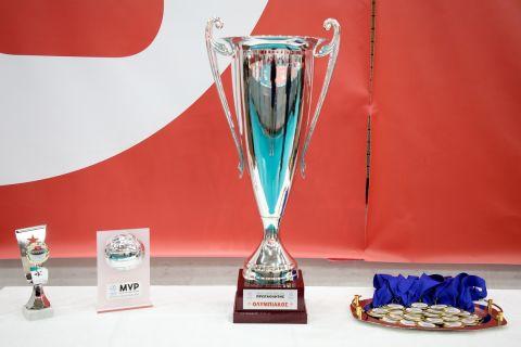 Η κούπα του πρωταθλητή στη VolleyLeague