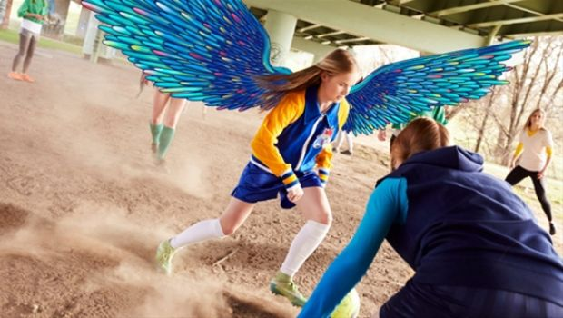 Μεγαλύτερη αυτοπεποίθηση για τα κορίτσια που παίζουν ποδόσφαιρο!