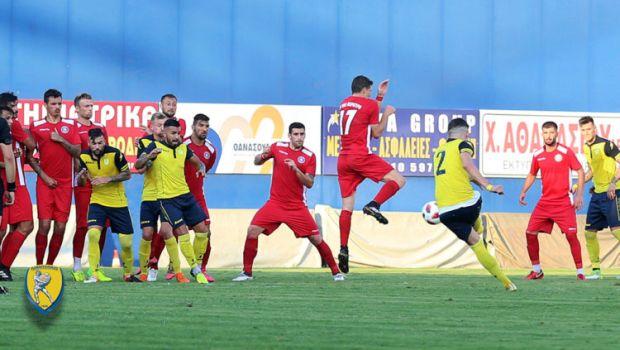 Ο Παναιτωλικός νίκησε 2-1 την Κέρκυρα σε φιλικό