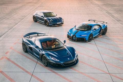 Γεννιέται η δύναμη Bugatti-Rimac, με την Porsche ισχυρό εταίρο