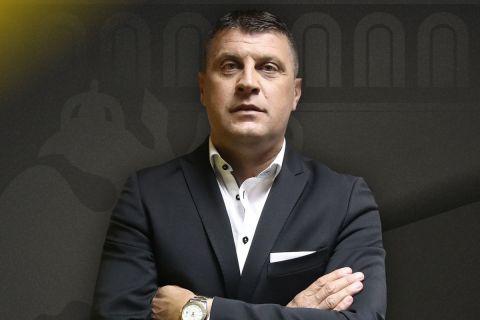 Ο Βλάνταν Μιλόγεβιτς στην παρουσίαση από την ΑΕΚ