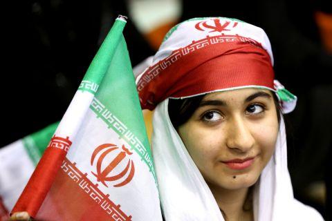 Φίλαθλος του Ιράν στις εξέδρες γηπέδου | 2 Ιουνίου 2014