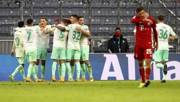 Bundesliga: Γκέλα για την Μπάγερν, 1-1 με την Βέρντερ Βρέμης