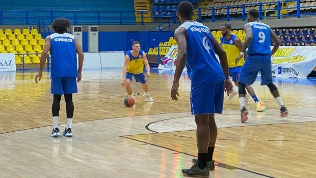 Περιστέρι - Ιωνικός Νικαίας: Φιλικό εν όψει της έναρξης της Basket League