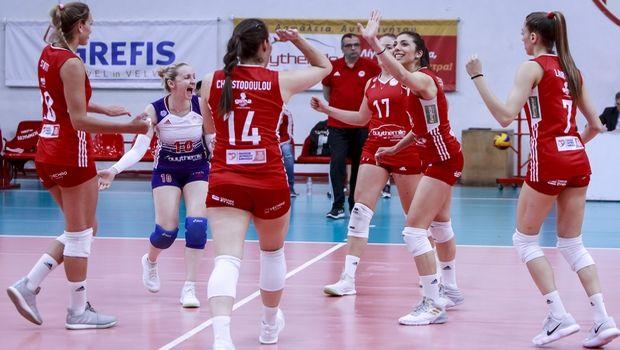 Volleyleague γυναικών: Αγκαλιά με τον τίτλο ο Ολυμπιακός