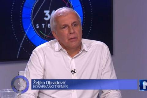 Ο Ζέλικο Ομπράντοβιτς κάνει δηλώσεις