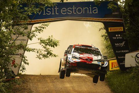 WRC, Εσθονία: Μάχη Ροβάνπερα-Μπριν για την παρθενική τους νίκη