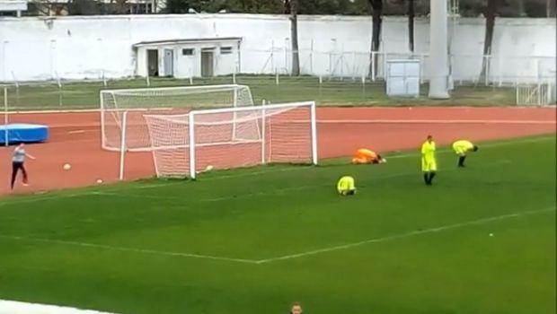 Τερματοφύλακας νόμιζε ότι η μπάλα έβγαινε άουτ, αλλά μπήκε γκολ! (video)