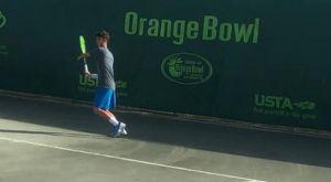Τένις: Ο Αστρεινίδης εντυπωσιάζει στο Orange Bowl