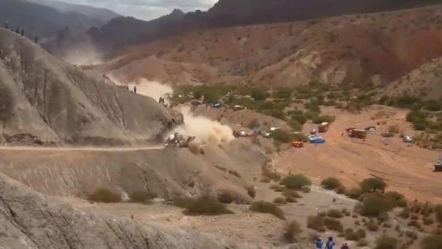 Τρομακτικό ατύχημα του Sáinz στο Rally Dakar 2017