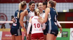 Volleyleague γυναικών: Στην κορυφή η Θήρα, έχασε βαθμό ο Ολυμπιακός