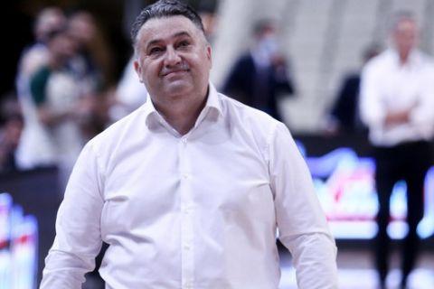 Ο προπονητής του Προμηθέα, Μάκης Γιατράς