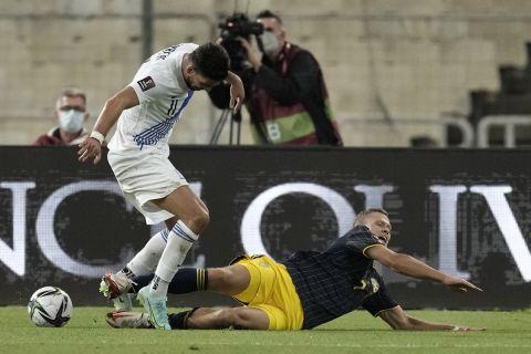 Ο Τάσος Μπακασέτας κόντρα στον Βίκτορ Κλάεζον σε ματς Ελλάδα - Σουηδία για τα προκριματικά του Παγκοσμίου Κυπέλλου