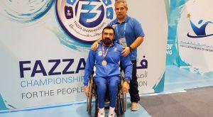 """Δεύτερος ο Γκρέμισλαβ Μωϋσιάδης στο Παγκόσμιο Κύπελλο """"Fazza"""""""