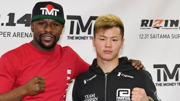 Ποιος αγώνας; Φιλικό σπάρινγκ το Floyd Mayweather vs Tenshin Nasukawa