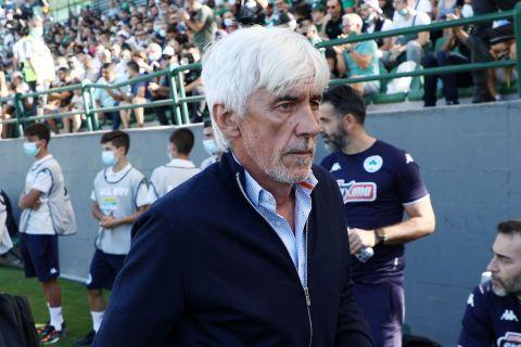 Ο Ιβάν Γιοβάνοβιτς στη διάρκεια του αγώνα Παναθηναϊκός - Βόλος | 26 Σεπτεμβρίου 2021