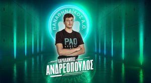 Παναθηναϊκός βόλεϊ ανδρών: Πρώτο επαγγελματικό συμβόλαιο για τον Ανδρεόπουλο