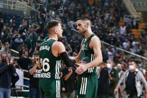 Παπαπέτρου και Νέντοβιτς πανηγυρίζουν τη νίκη απέναντι στη Φενερμπαχτσέ