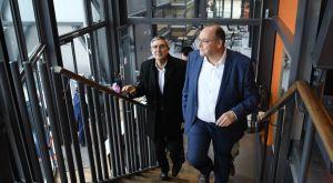 Προμηθέας: Επισκέφθηκε τις εγκαταστάσεις του ο Τζόρντι Μπερτομέου