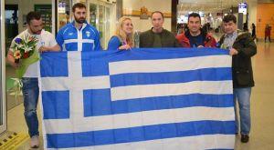 Άρση βαρών: Η υποδοχή της θριαμβευτικής ελληνικής αποστολής