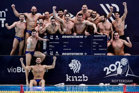Η αποστολή της Εθνικής Πόλο Ανδρών για τους Ολυμπιακούς Αγώνες