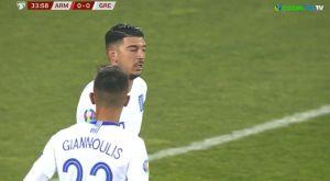 Αρμενία – Ελλάδα: Το 0-1 της Εθνικής με τον Λημνιό