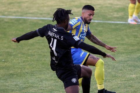 Ο Χόρχε Ντίαζ κόντρα στον ΟΦΗ στην τελευταία αγωνιστική των playouts