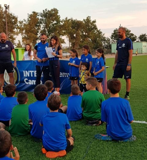 Ολοκληρώθηκε το Inter Academy camp Greece στη Λήμνο