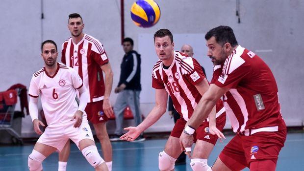 Volleyleague ανδρών: Κοντά στους τελικούς ο Ολυμπιακός