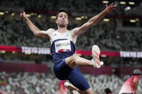 Ο Μίλτος Τεντόγλου στη διάρκεια των Ολυμπιακών αγώνων του Τόκιο | 31 Ιουλίου 2021