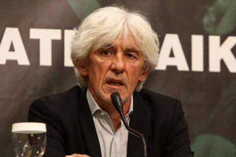 Ο Ιβάν Γιουβάνοβιτς στην πρώτη του συνέντευξη Τύπου ως προπονητής του Παναθηναϊκού