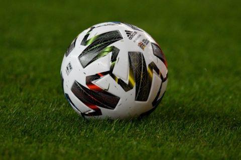 Μπάλα από ματς της Εθνικής ομάδας με τη Μολδαβία
